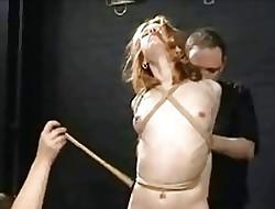 Redhead porn video - xxx bondage video